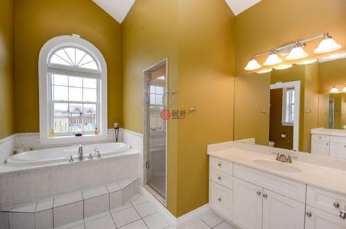 开放式别墅宽敞的卫生间图片