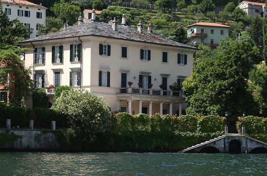 乔治·克鲁尼或出售意大利别墅